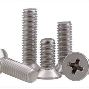 philips flat countersunk head machine screws