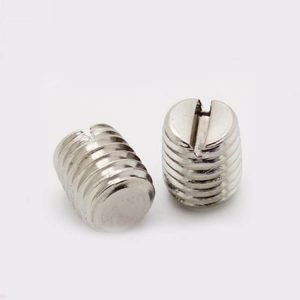 slotted set screws stainless steel