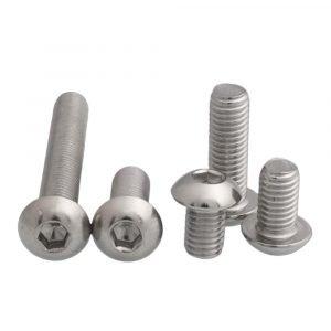 316 stainless button head screws