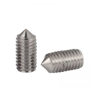 Stainless Steel 316 Set Screws Cone Point