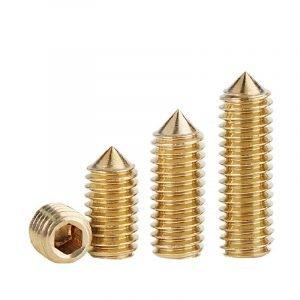 Brass Tipped Set Screws