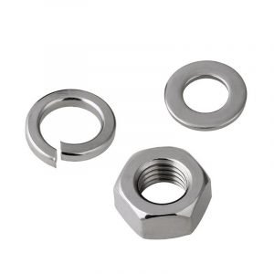 stainless Nuts washers set